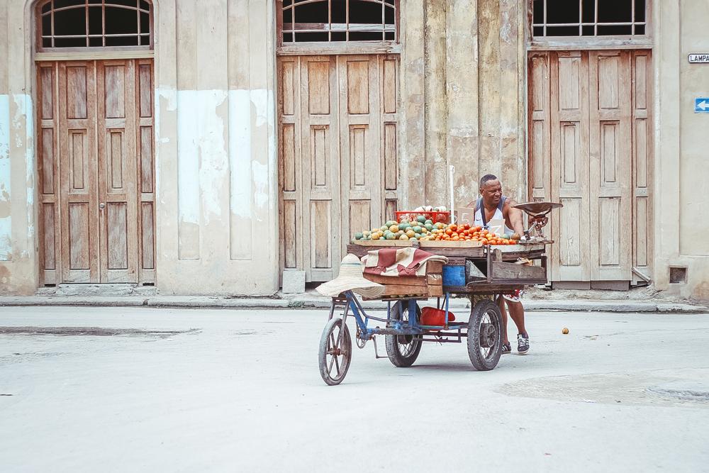 Obsthändler Havanna