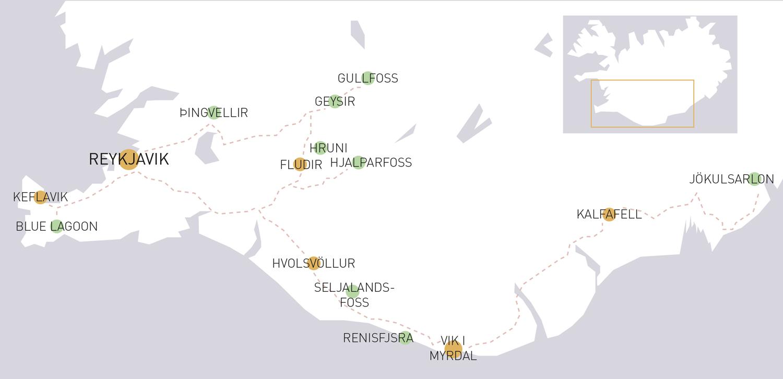 Island Winter Route