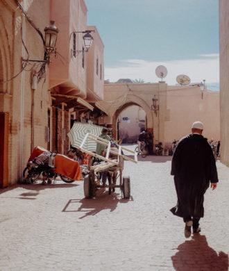 Marokko Reiseroute
