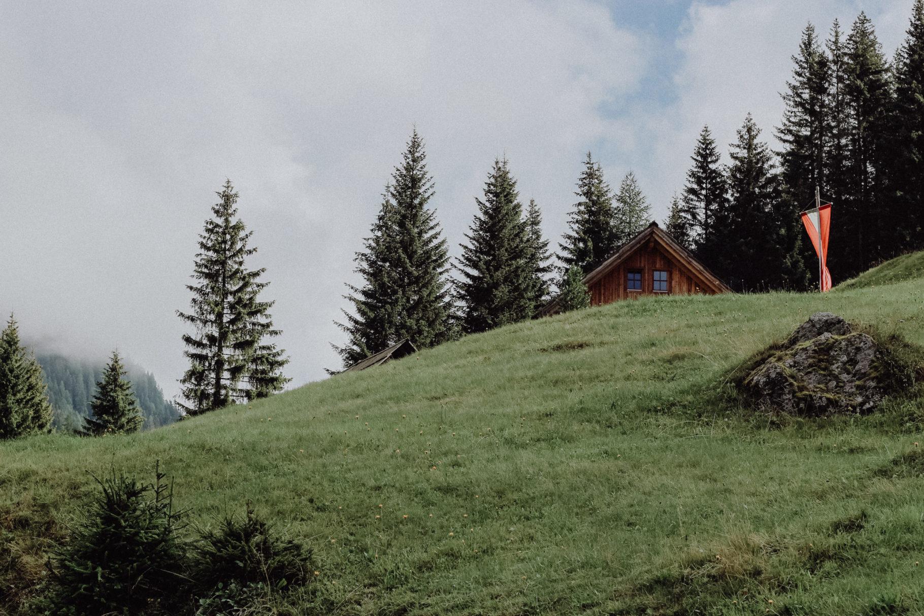 Der Alpe Adria Trail mit Zelt: Die Etappen 1-8 in Österreich