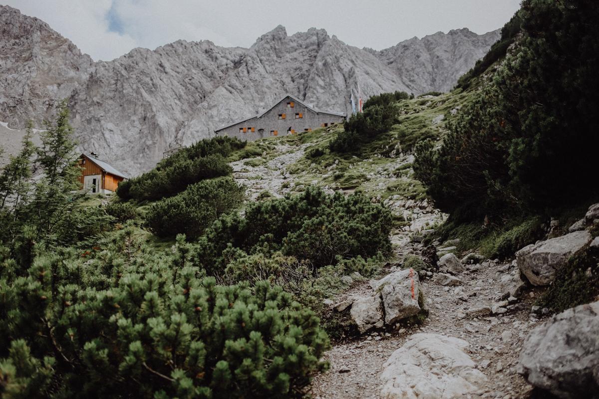 Wandern Tirol Coburger Hütte