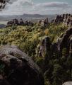 Wandern Sächsische Schweiz Schrammsteine