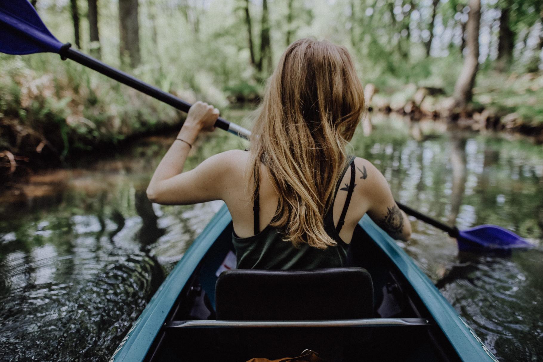 Kajak fahren im Spreewald: Ein Tagesausflug nach Lübbenau
