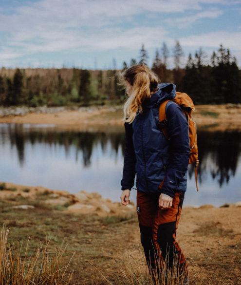 Wandern Harz Oderteich