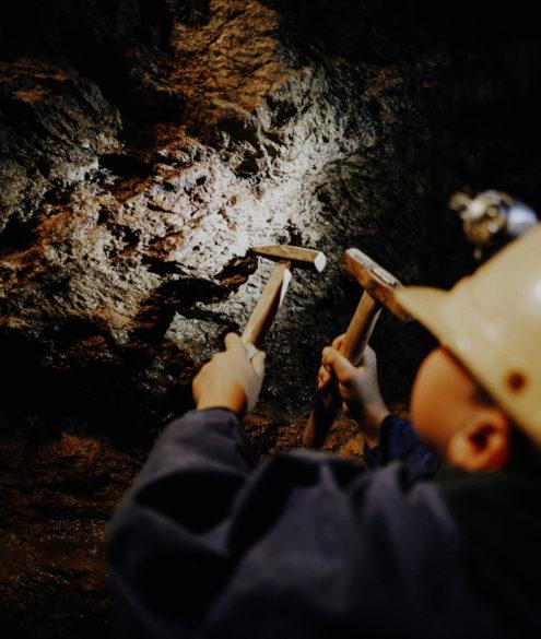 Bergbau Erzgebirge Besucherbergwerk Annaberg Im Gößner