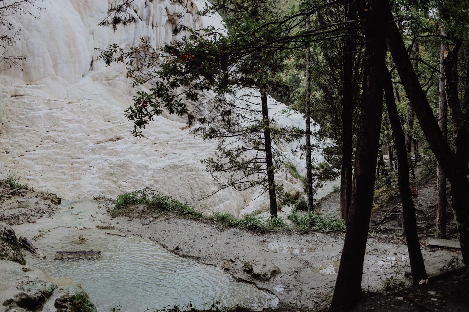 Bagni di San Filippo: Alle Infos für den Ausflug zu den heißen Quellen in der Toskana