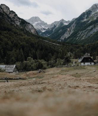 Wandern Slowenien Soca Quelle Wasserfall Zapotok